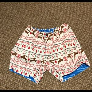 Chubbies Christmas/Hannukah Shorts Size Medium
